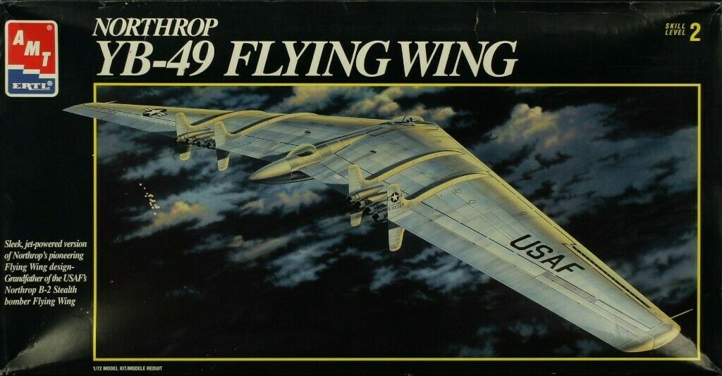YB-49 NORTHRUP FLYING WING HAT LAPEL PIN UP X-49 MADE IN US AIR FORCE AFB B-2