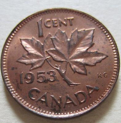 Canada 1973 Small Cent UNC Gem BU!!