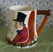 Crown Devon John Peel Hunting Theme Relief Moulded Tankard c1930s (not musical)