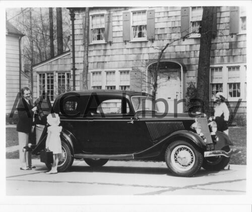 Factory Photo 1934 Ford Victoria Ref. # 41903