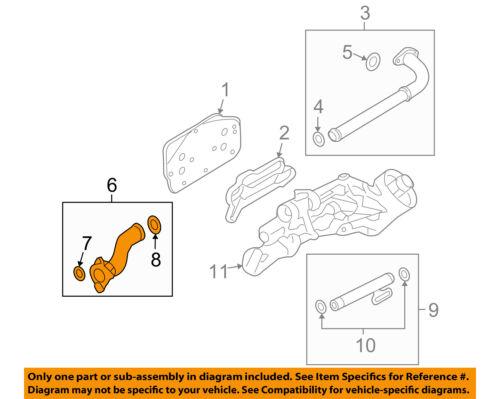 GM OEM Oil Cooler-Outlet Pipe 55353330