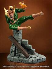 Iron Fist Marvel Comics Green Version Hard Hero Statue Factory Sealed New #18