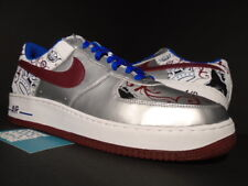 c393f9d889f item 4 2006 NIKE AIR FORCE 1 PREMIUM LEBRON JAMES ROYALE COLLECTION SILVER  BLUE RED 13 -2006 NIKE AIR FORCE 1 PREMIUM LEBRON JAMES ROYALE COLLECTION  SILVER ...