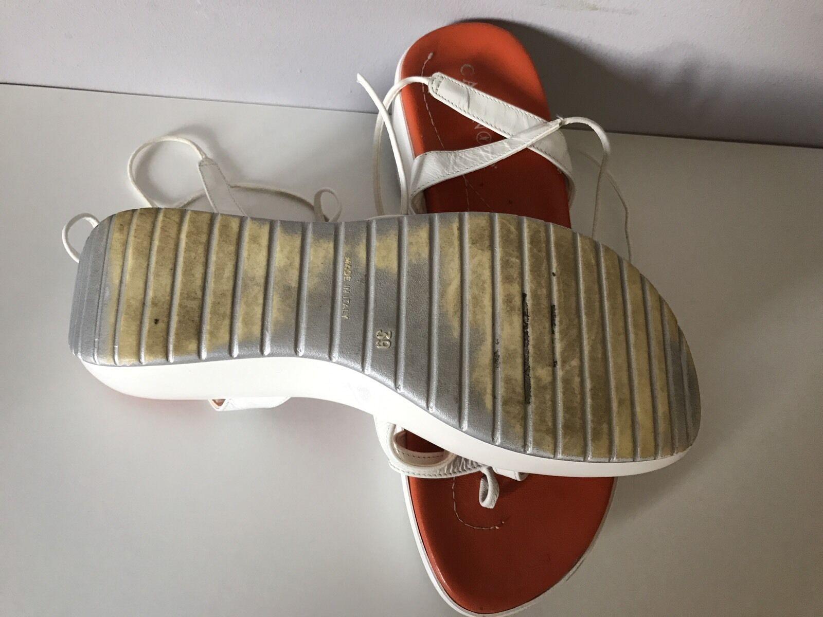 CAFèNOIR Cinturini GLADIATORI Con Cinturini CAFèNOIR Zeppa Sandali in Pelle ITALIANA// Dimensioni: 39 d78b3d