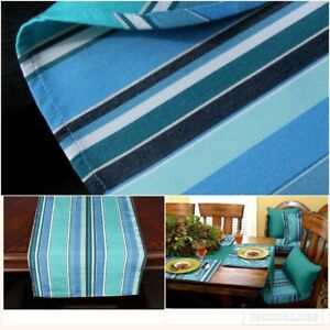 Gentil Image Is Loading Sunbrella Outdoor Tablecloth  Tablerunner Or Placemats DOLCE OASIS