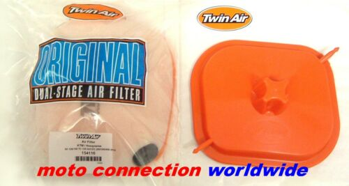 NEW 2017 KTM EXCF 250 350  TWIN AIR FILTER /& WASHING COVER  Pt:154116//160110