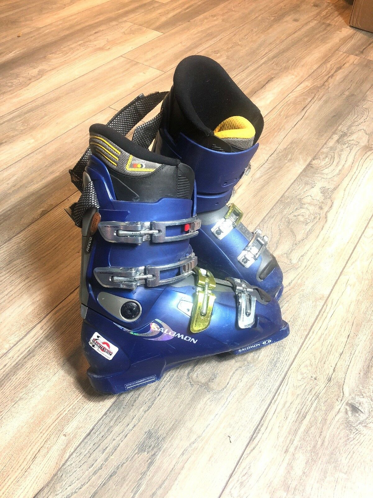 Salomon XWAVE 8.0 Men's US 9.5 27.5 Downhill Ski Boots