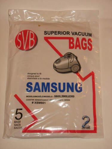 20 Vacuum bags SAMSUNG Canister Series 1300 3500 5800 5900 6300 VP95 XSM601