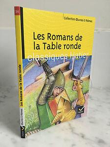 Las Novelas de La Mesa Redonda Clásicos Hatier Colección Obras Y Temas 2013