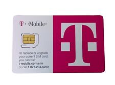 T-Mobile Micro Sim UNACTIVATED,4G LTE , REPLACEMENT Sim CARD