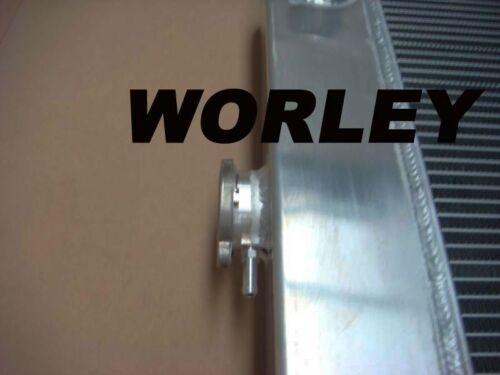 3 row aluminum radiator shroud fan for FORD F100 F150 F250 F350 Bronco TRUCK