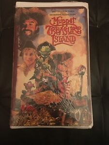 Jim-Hensons-Muppet-Treasure-Island-VHS-1996-Brand-New-Sealed-Clamshell