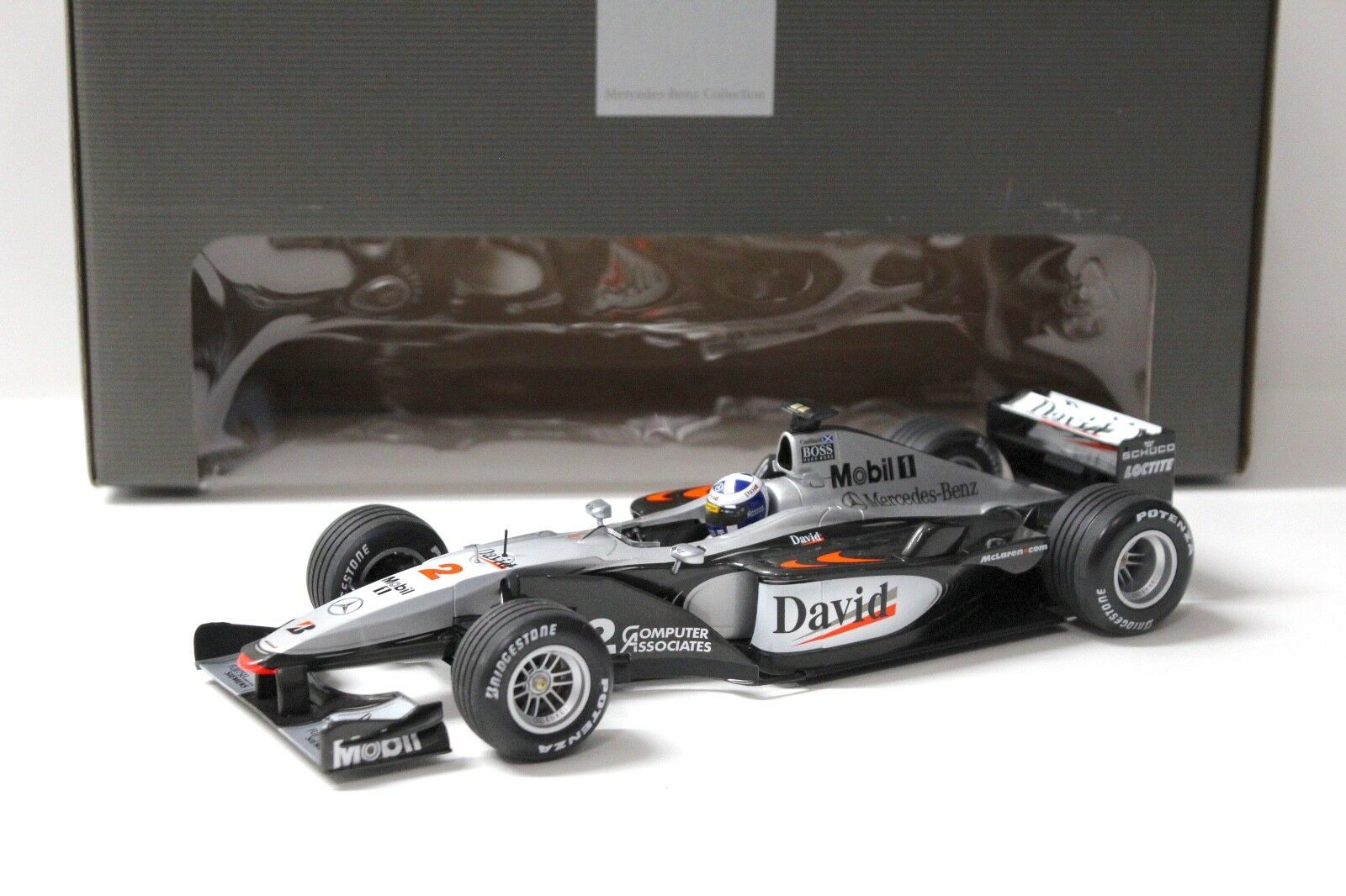 1 18 Minichamps McLaren Mercedes mp4 15 eIaborate  2 NEW per PREMIUM-MODELCARS