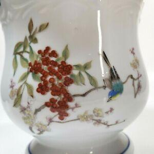 Takahashi San Francisco Planter Cache Pot Bird Cherry Blossom