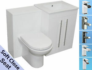 Perfect Image Is Loading BATHROOM VANITY UNIT BACK TO WALL WC TOILET