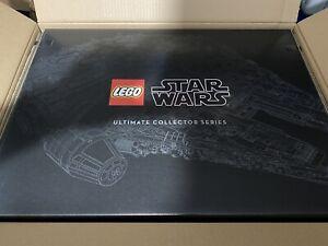 Lego-75192-Star-Wars-Millennium-Falcon-7541-Pieces-amp-Display-Stand-Entierement-neuf-dans-sa-boite