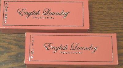 2x English Laundry Pour Femme 30oz 10ml Purse Spray New