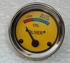 item 4 Oil Pressure Gauge   Oliver 440, 660, OC-3, OC-4, OC-6 Super 44, 55,  66, 77, 88 -Oil Pressure Gauge   Oliver 440, 660, OC-3, OC-4, OC-6 Super  44, 55, ... 2331a6cde0