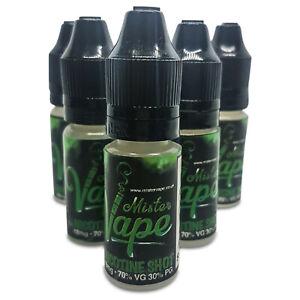 Nicotine Shots 18MG 10ML 70VG/30PG BY Mister Vape Unflavoured Nicotine Shot UK