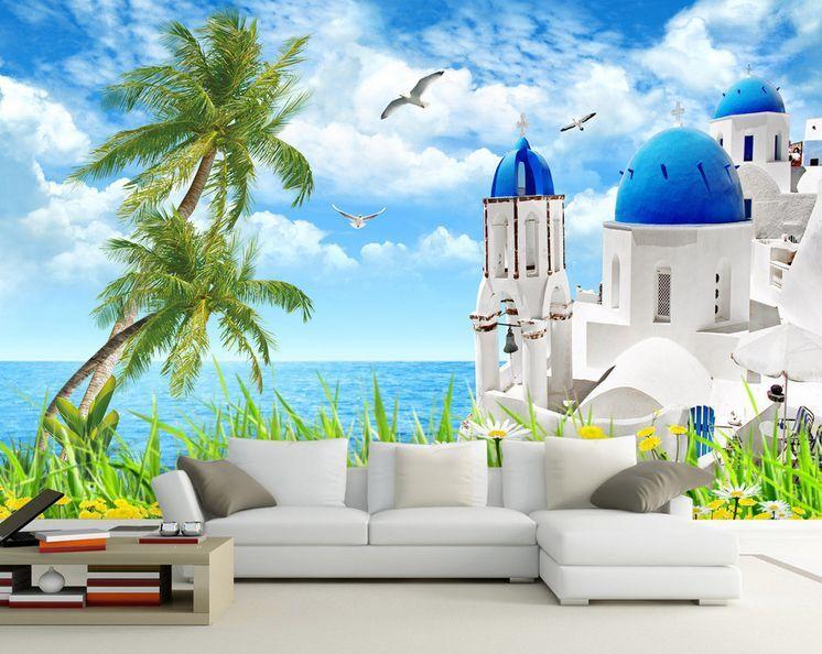 3D Romantic Seaside Scenery 35 Wall Paper Wall Print Decal Wall AJ Wall Paper
