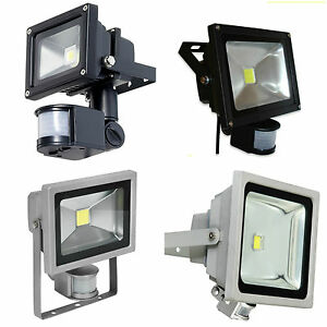 10w 20w 30w 50w led floodlight low energy flood pir sensor security image is loading 10w 20w 30w 50w led floodlight low energy aloadofball Choice Image