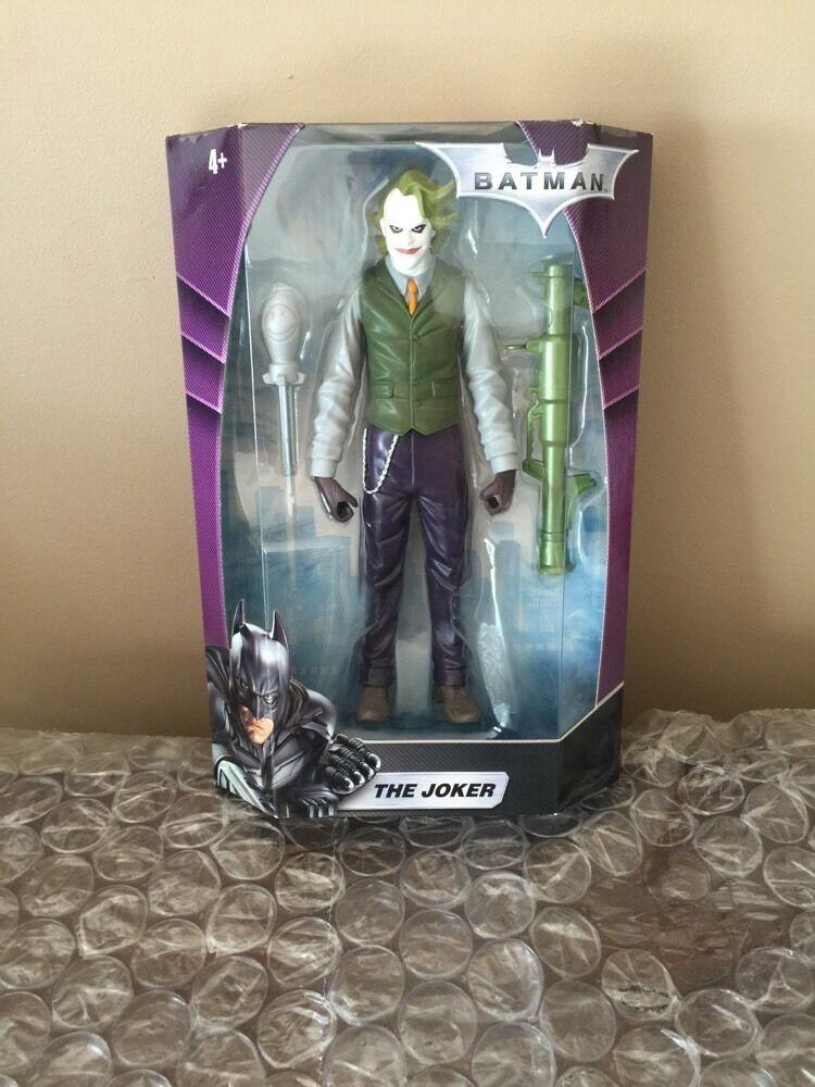 Batman The Joker DC Hero Zone Dark Knight 10 inch Action Figure w/ Grün Bazooka