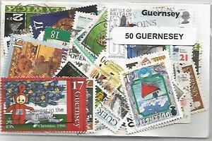 Lot de timbres de Gernesey - France - Qualité: TTBE Région: Europe - France