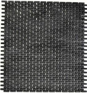Mosaik-Verbund-Vetro-schwarz-matt-Fliesenspiegel-Kueche-Art-140-B21B-10-Matten