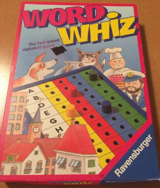 Ravensburger Word Whiz Alphabet Game From 1997