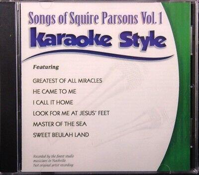 Karaoke Cdgs, Dvds & Media Just Songs Of Squire Parsons Volume 1 Karaoke Style New Cd+g Daywind 6 Songs Last Style