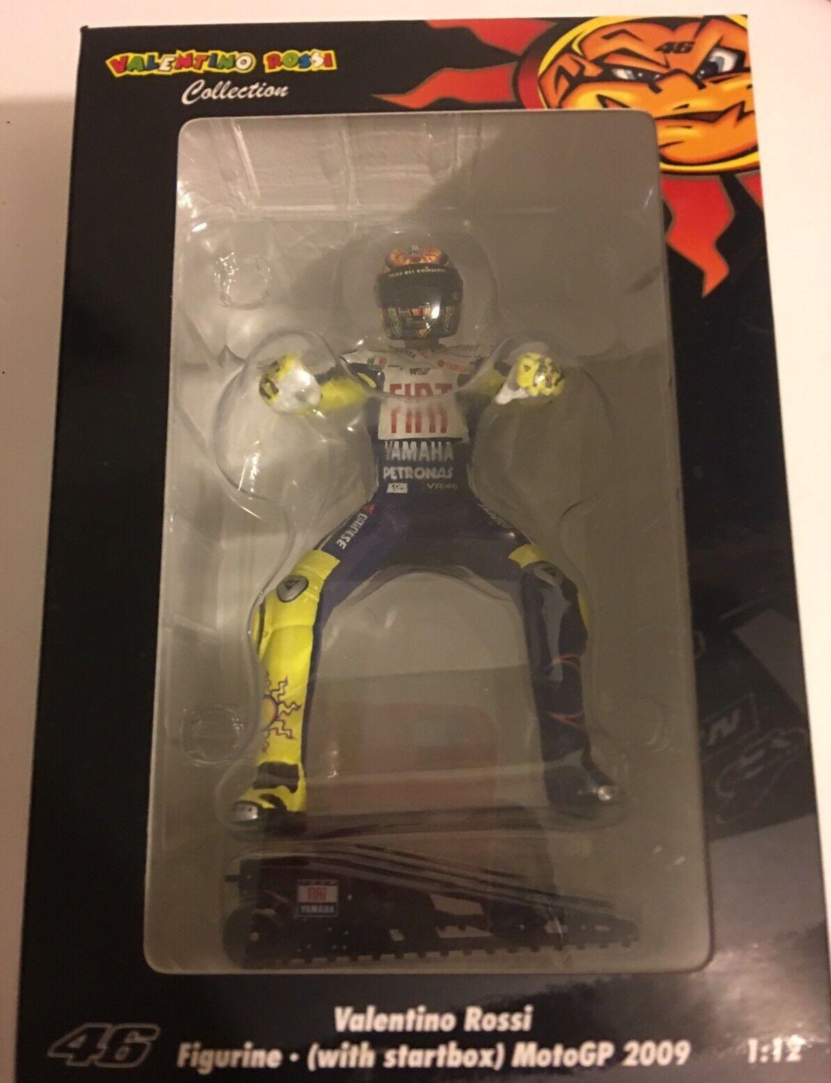 1 12 Minichamps Figure Valentino Rossi  2009 + Startbox