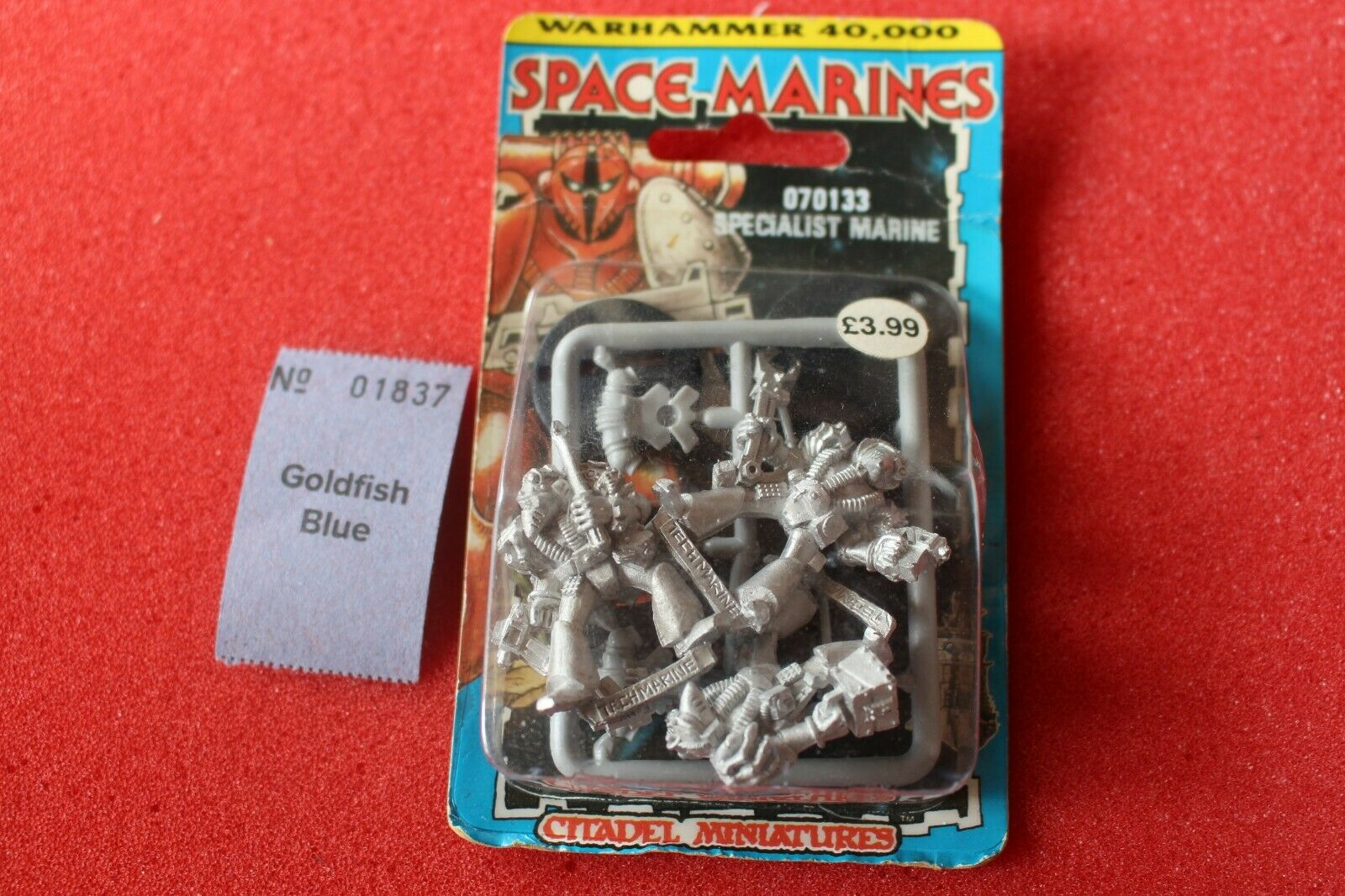 Juegos taller Warhammer 40k marines espaciales techmarines Rogue Trader Marina Nuevo Y En Caja