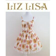 Liz Lisa Sunflower pattern Dress Lolita Hime Gyaru shibuya109 Very Cute (a253)