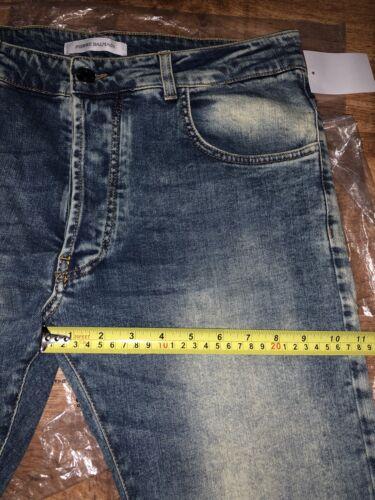 379 Fit Jeans Balmain Slim Stretch It52 Blue 65 L32 Denim Rrp kr W36 Fx7SpW