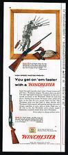 1955 Winchester Model 50 Shotgun And Model 12 Vintage Print Ad