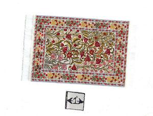 Rug  1S  miniature dollhouse woven carpet 1pc 1//12 scale