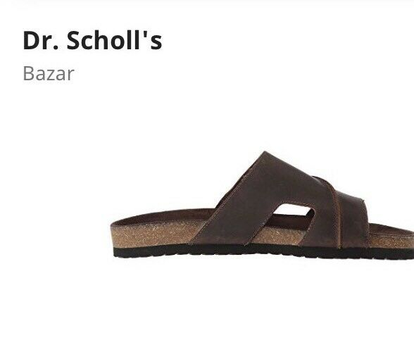33518b177051 ... Dr. Scholls Men s Bazar Brown Brown Brown Sandals Size 9 2f2769 ...