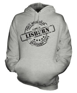 di Natale compleanno Ladies Unisex ° Made In Womens Lisburn Hoodie Mens Gift 50 wRwPB1UAqx