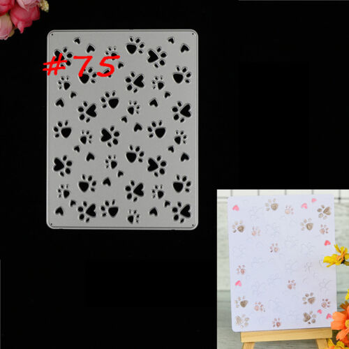 75 Styles Metal Cutting Die For DIY Scrapbooking Album Paper Cards Embossing FO