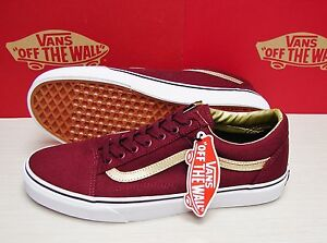 422f30fbae7301 Vans Old Skool 50th Port Royale Gold Men s Size  11 888655799377