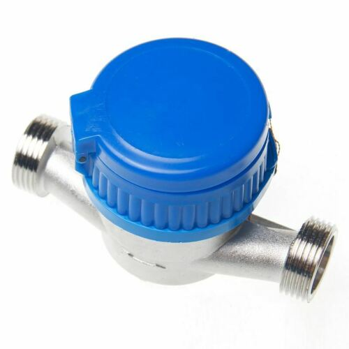 15180820 Home Garden Water Flow Measuring Meter 20MM Cold Dry Counter