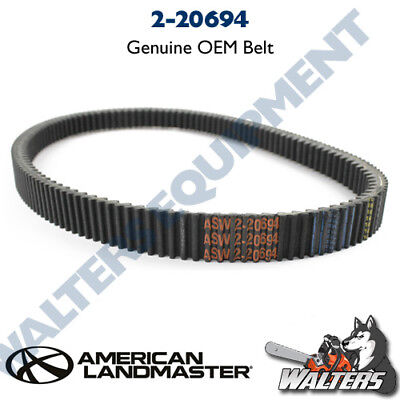 NEW Genuine American Sportworks 2-20694 CV-Tech Belt   eBay