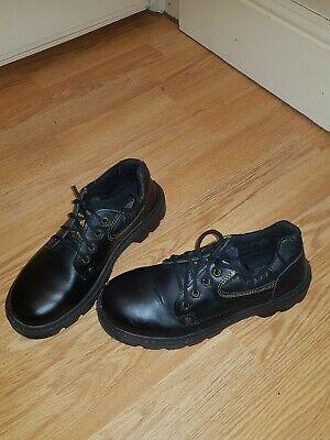 1 Paar Schwarze Arbeitsschuhe Gr. 38 Neuwertig Modischer (In) Stil;