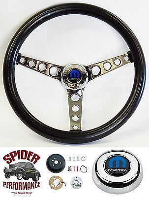 """1982-1991 Dodge pickup steering wheel TILT MOPAR CLASSIC 14 1/2"""""""