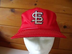 Details about OLD SCHOOL ST  LOUIS CARDINALS MLB Baseball Cap RETRO Trucker  Hat RARE Unique