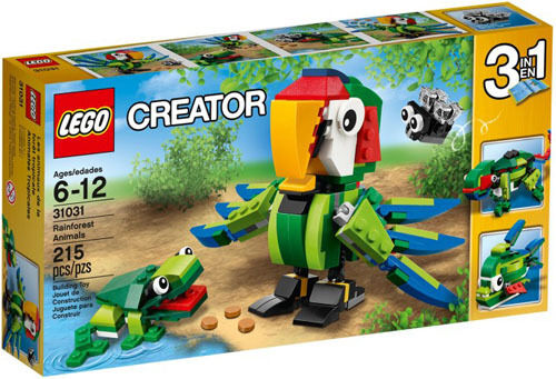 LEGO Creator 31031 Rainforest Animals Set New In Box Sealed