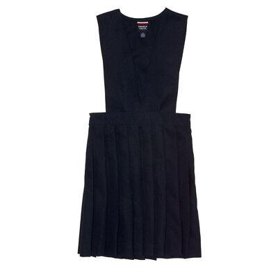 M/&s fille école plissé robe-tablier double boutonnage 2-12 ans gris