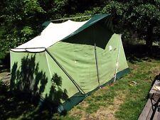 Vintage Coleman Oasis 13' x 9' canvas cabin tent - Model 8438A839 - Complete