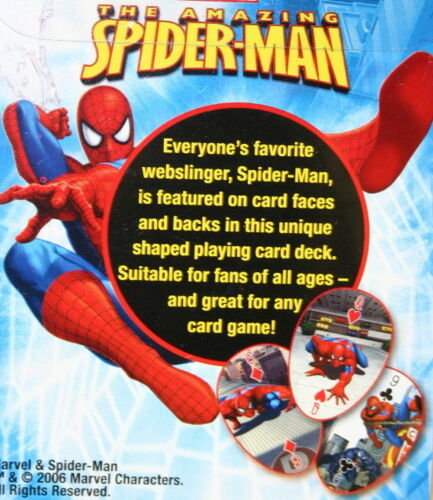 The Amazing Spider Man Playing Cards Bicycle New In Sealed Package