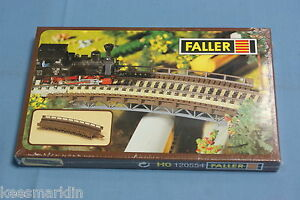 Faller-120554-Curved-Bridge-Kit-HO